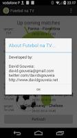 Screenshot of Futebol na TV