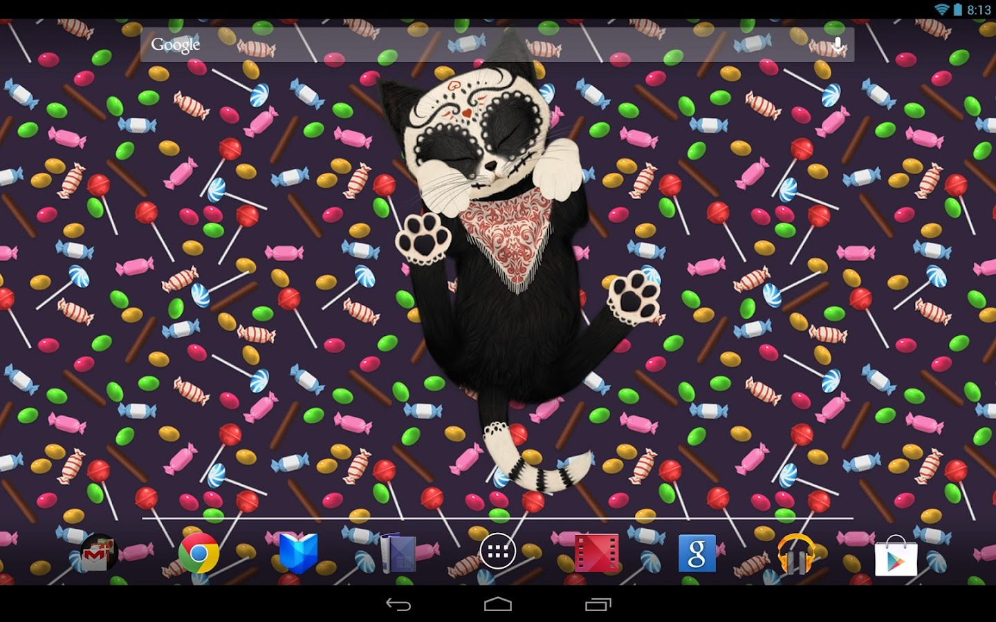 HD Cat Live Wallpaper- screenshot