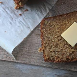 Maple Olive Oil Banana Bread.
