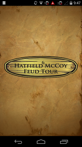 Hatfield McCoy Feud Tour App