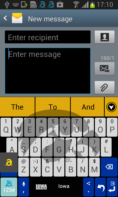 Iowa Keyboard - screenshot