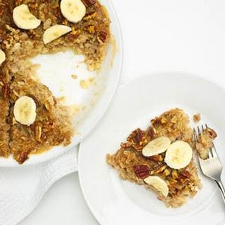 Maple Pecan Cereal Pie