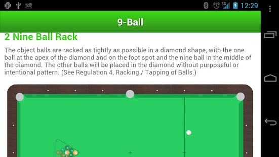 Billiard Rules- screenshot thumbnail