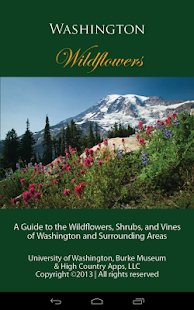 Washington Wildflowers - screenshot thumbnail
