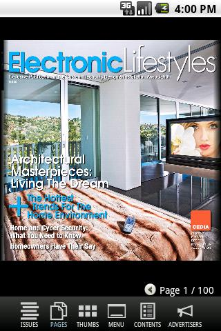 CEDIA Electronic Lifestyles® - screenshot