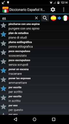 Spanish Italian Dictionary