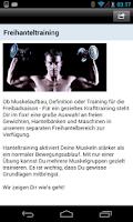 Screenshot of fixx! Fitnessdiscount