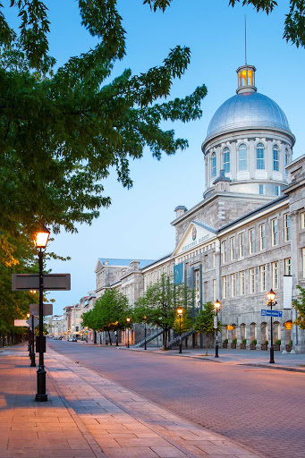 Bonsecours Market, at 350 rue Saint-Paul in Old Montreal, is a domed public market that served as Montreal's main public market for more than a century.