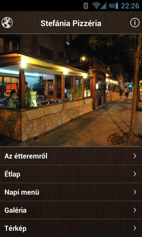 budapest térkép útvonaltervezővel Stefánia Pizzéria   Programu za Android kwenye Google Play budapest térkép útvonaltervezővel