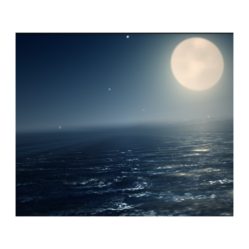 Ocean At Night Live Wallpaper LOGO-APP點子