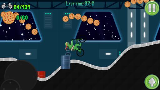 Turtle On BMX