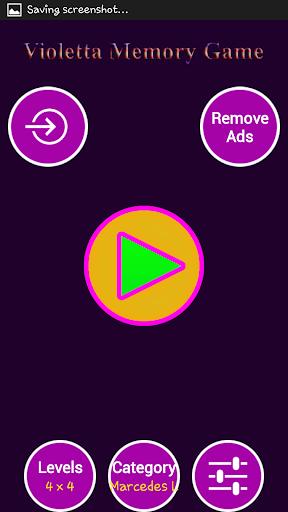 Violetta Memory Games