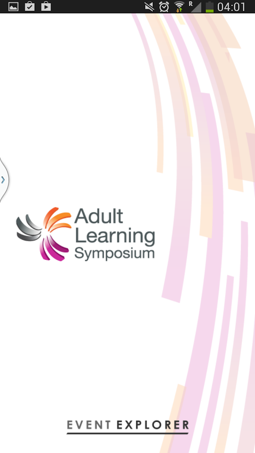 Adult Learning Symposium 2014 - screenshot