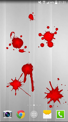 Blood Touch Live Wallpaper