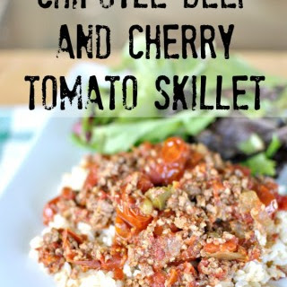 Chipotle Beef and Cherry Tomato Skillet + Product Review Recipe