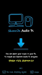 ShareON Audio WiFi DLNA iTunes - screenshot thumbnail