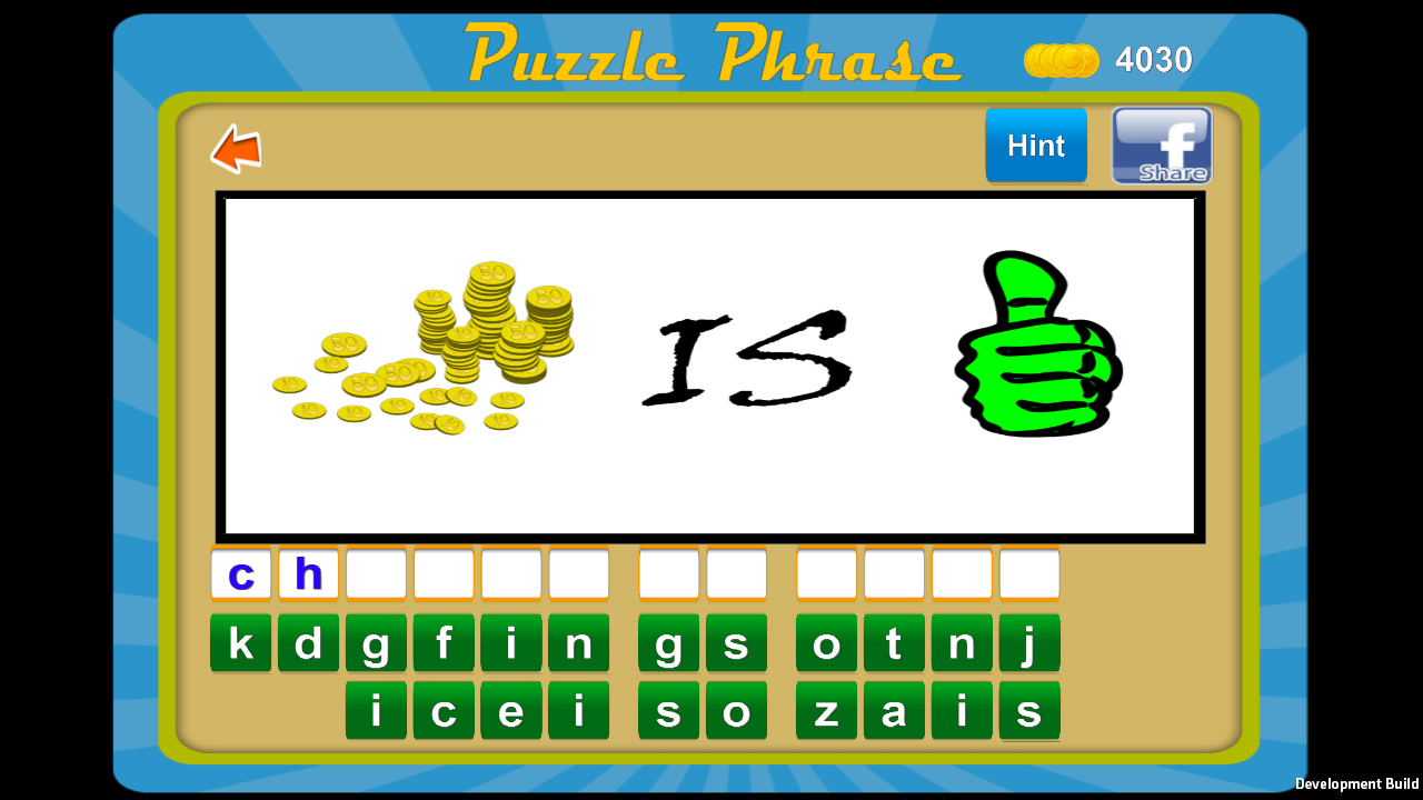 Puzzle Phrase- screenshot