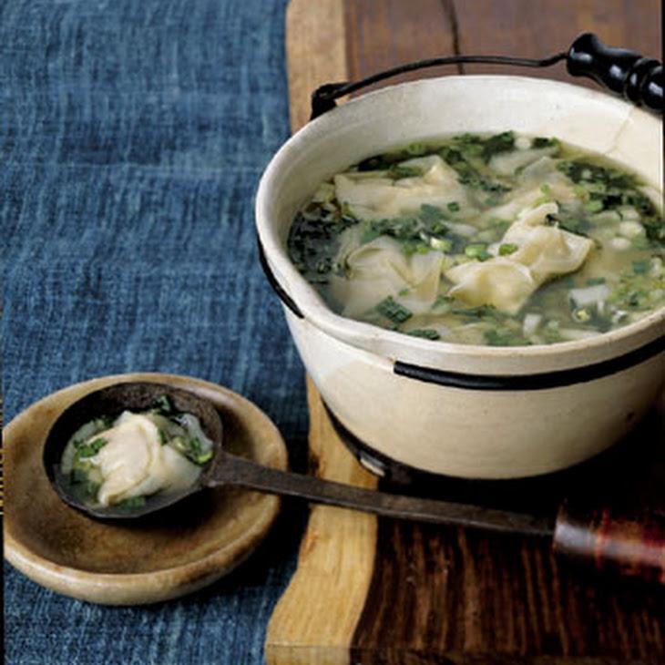 Wonton Soup with Bok Choy