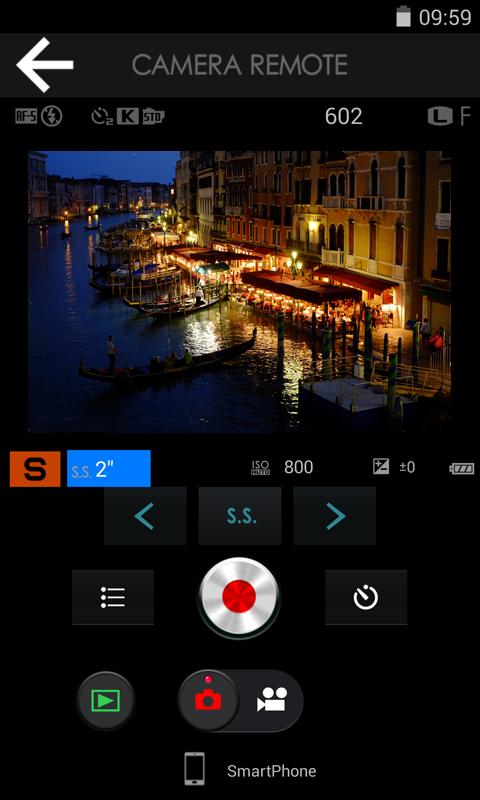 FUJIFILM Camera Remote - screenshot