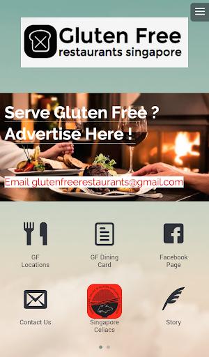 Gluten Free Restaurants SG