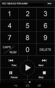 Popcorn Hour Remote Control - screenshot thumbnail