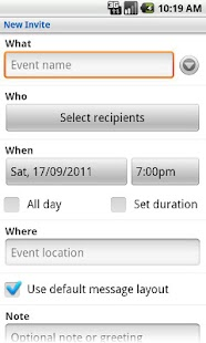 SMS Group Invite - screenshot thumbnail