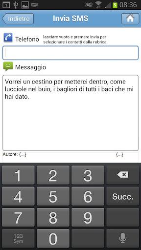 【免費通訊App】SMS Senza Parole-APP點子