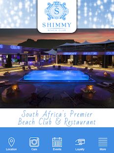 Shimmy Beach Club Cape Town- screenshot thumbnail