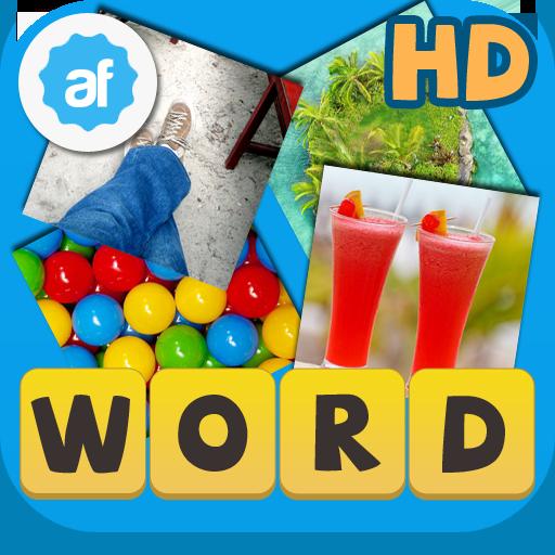 Word4Pics: 4 Pics 1 Word  HD LOGO-APP點子