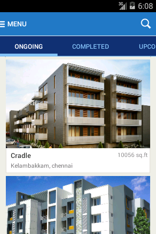 HM Realty- screenshot
