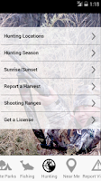 Screenshot of Maryland Access DNR