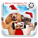 Merry Christmas Video FX icon