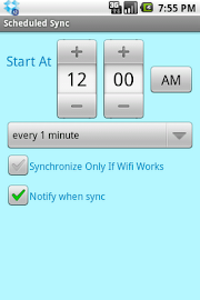 ScheduledSync Screenshot 3
