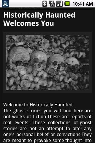 TRUE GHOST STORIES- screenshot