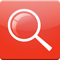 Red Search for Google logo