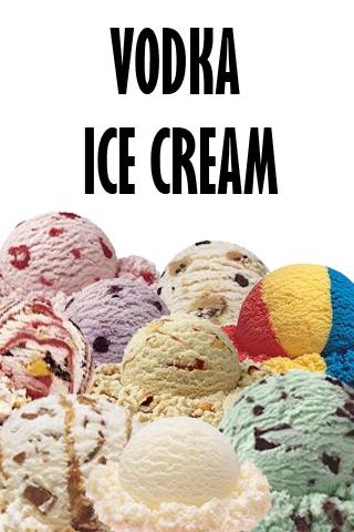 如何使伏特加冰淇淋