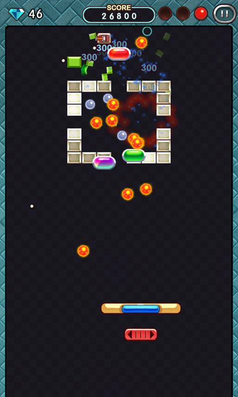 Brick Breaker 2012 - screenshot