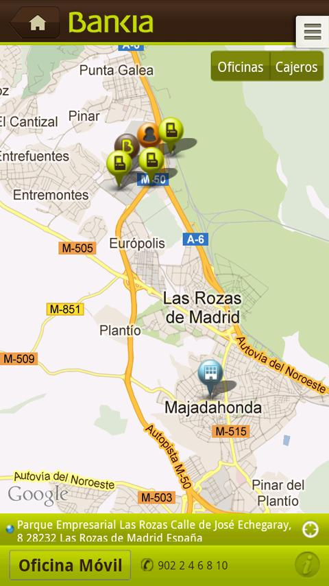 Bankia - screenshot