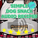 Dog Snack Audio Recipes Lite logo