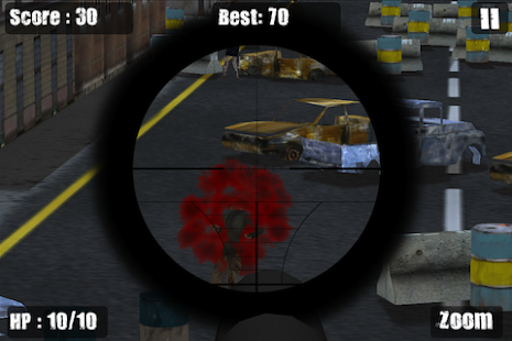Zombie Sniper Killing Game - screenshot thumbnail