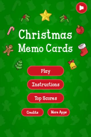 Christmas Memo Cards- screenshot