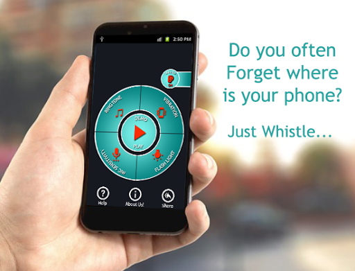 Whistle Phone Finder Flash