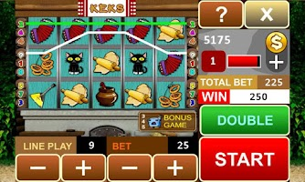 Screenshot of Keks slot machine