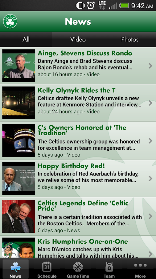 Boston Celtics - screenshot