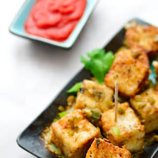 Chinese Salt and Pepper Tofu Restaurant Style.