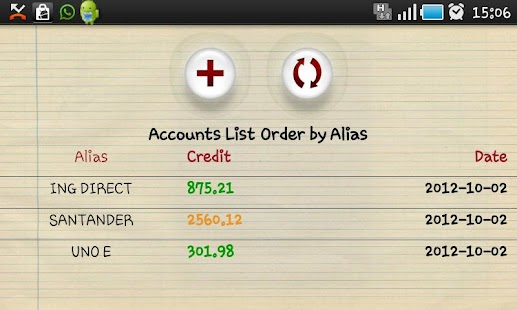 My Accounts - screenshot thumbnail