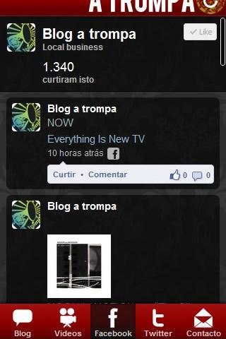 A Trompa - screenshot