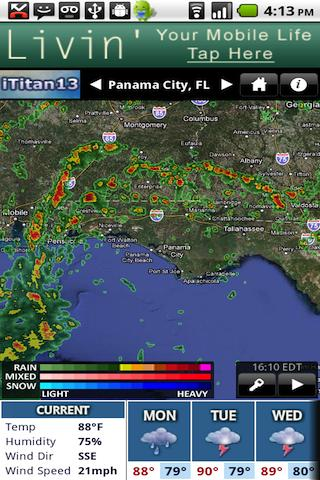 WMBB Radar - screenshot