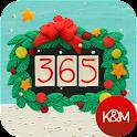 KM Christmas countdown widgets