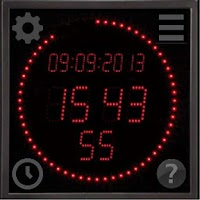 Screenshot of LED Clock for Smartwatches